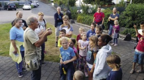 Fledermaus-Exkursionen mit Günther Hahn